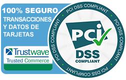 Certificado de PCI conformidad