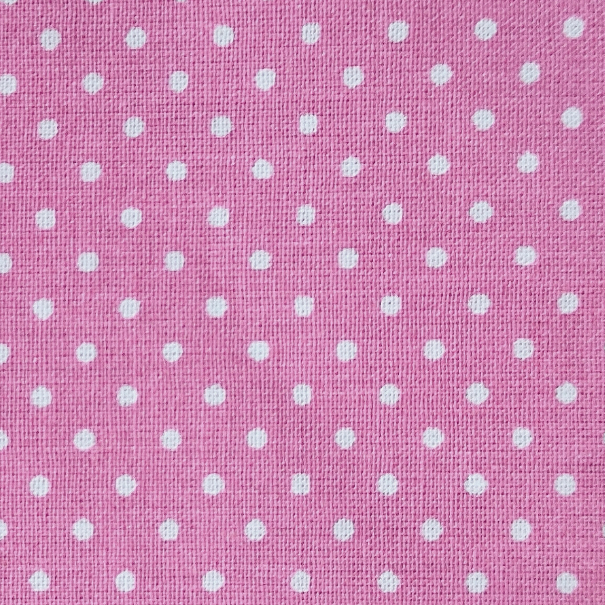 Pink with dots